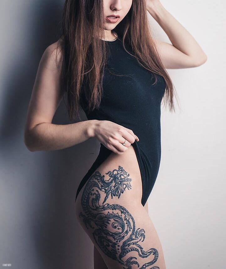tattoo-dragon-woman